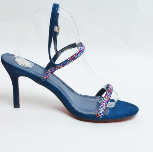 Blue Double Stripe Open Sandal