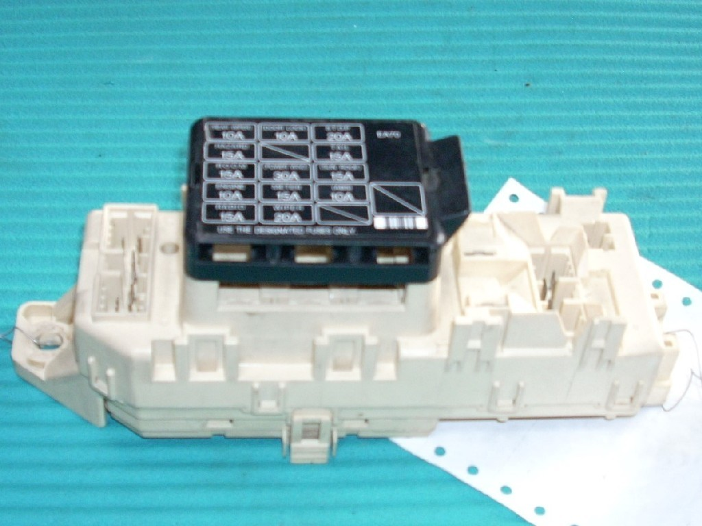 1994 mazda mx 3 relay junction cabin fuse box bcm oem. Black Bedroom Furniture Sets. Home Design Ideas