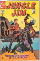 Jungle Jim Comic Book #24, Charlton Comics 1969 VERY FINE+ - $19.27