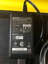 OEM Sony Charger AC-L25A Power Supply Adapter for VG20, DCR-SX Series  - $8.86