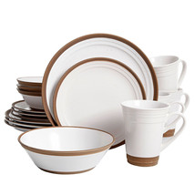 Gibson Elite Brynn 16-Piece Dinnerware Set, White - $123.23