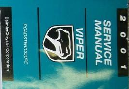 2001 DODGE VIPER MODELS Service Shop Workshop Repair Manual FACTORY OEM - $76.42