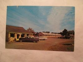 Perry Georgia Postcard Colonial Court Motel and Restaurant GA - $5.99