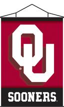 "Oaklahoma Sooners 40""x28"" Indoor Banner Scroll - $31.95"