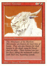 Magic: The Gathering 3rd Edition - Hurloon Minotaur - $0.25