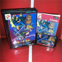 Contra Hard Corps MD Cartridge Card Sega Mega Genesis Game Console Boxed... - $23.74+