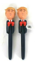 2 Count Asian Express Limited Talking Trump Novelty Pen Numerous Phrases - $17.99
