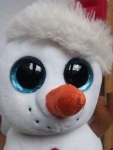 "Ty Beanie Boo ""Scoop"" Medium Size Snowman Retired - $12.19"