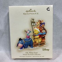 Hallmark Keepsake Ornament Disney Winnie The Pooh Collection Oh What Fun... - $18.69