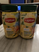 Lipton Diet Iced Tea Mix, Lemon, 10 Quart LOT of 2 NEW EXP.10/2021 - $22.08