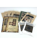 10 Quilting Patterns Star Quilt Quilts Remembered Cottage Holiday Checke... - $29.99