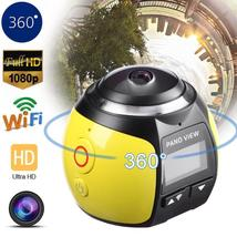 Mini 360 Degree Wifi 4K HD Ultra Panoramic Sport VR Action Camera Dash D... - $134.46