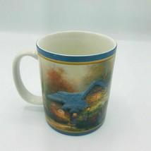 Thomas Kinkade AMCAL Heathers Hutch Mug 2002 For The Gift Of Art MINT - $7.35