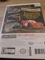 Nintendo Wii Cars Mater-national Championship image 3