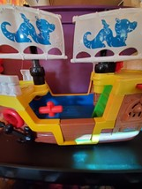 Fisher Price Little People Lil' Pirate Ship kid Treasure Boat  - $20.00