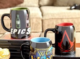 Ultimate Gamer Stein Beer Mug Choice of Call of Duty or Assassins Creed ... - $14.99