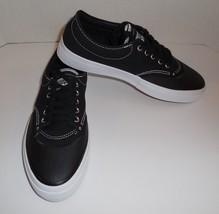 Mens 8.5 Womens 10 CONVERSE Crimson Canvas OX Sneakers Shoes Black New 153465C - $42.04