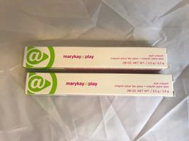 Lot Of 2 Mary Kay At Play Eye Crayons Purple Smoke NIB .08OZ Per Unit Makeup - $7.42
