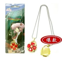 Shugo Chara Concentric Lock Modelling Lovers Pendant Necklace Cosplay  Accessory - $7.06