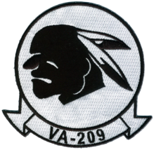US Navy VA-209 Air Barons Patch NEW!!! - $11.87