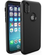 Apple iPhone X Case - Drop Protector Anti Scratch Cover – Slim Edition NEW - $7.91