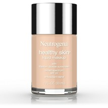 Neutrogena Healthy Skin Liquid Makeup Foundation, 50 Soft Beige, 1 fl. oz.. - $25.73