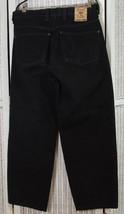 """DIESEL Vintage Saddle Jeans 35W 31L Model """"Lancio"""" Carrot Leg Black Deni... - $46.92"""