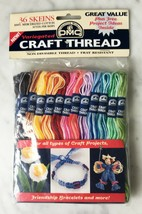 DMC Variegated Craft Thread - 36 Skeins 100% Mercerized Cotton 10 yds per skein - $23.70
