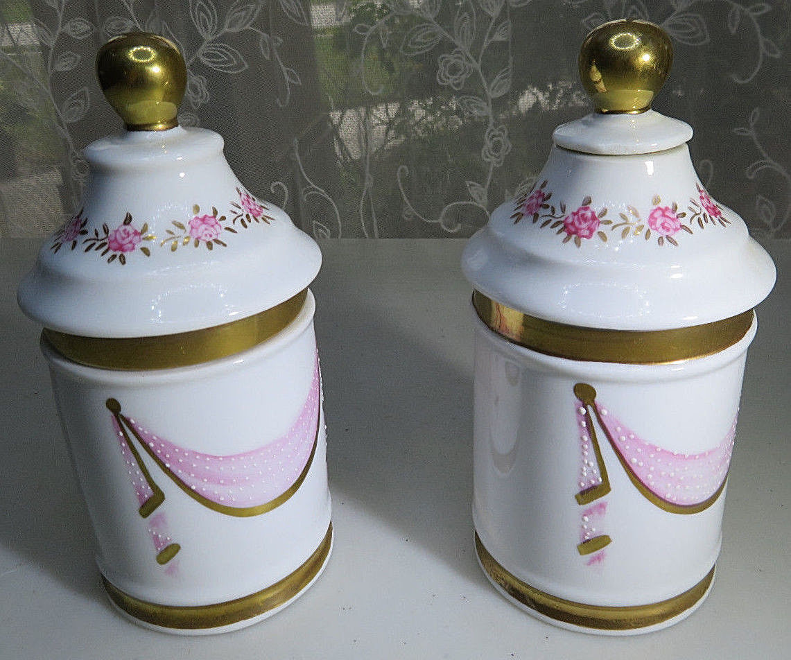 2 Vintage Porcelain Bathroom Accessories Set And 50 Similar