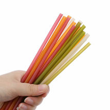 Rice straws planet-friendly, ocean-safe, guilt-free drinking - 100 straws  image 10