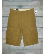 NWT Gap Kids Boys Beige Cargo Shorts Size 8 - $12.99