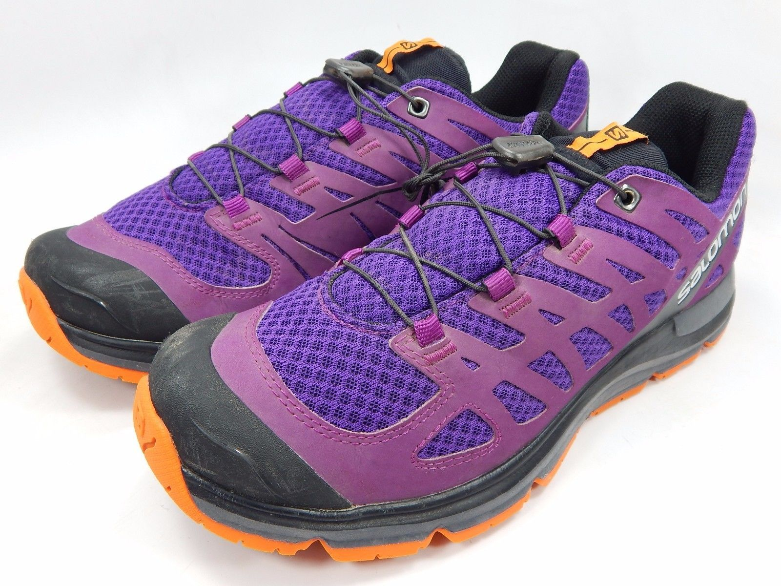 Salomon Synapse Women's Running Trail Shoes Size US 9.5 M (B) EU 42 Purple