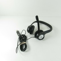 Logitech DZL-A-00052 Stereo On-Ear Corded USB Headset W/ Microphone  - $22.49
