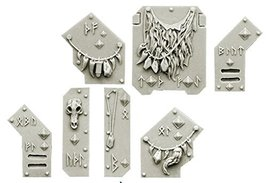 Spellcrow Wolves Knights Ornaments for Light Vehicles