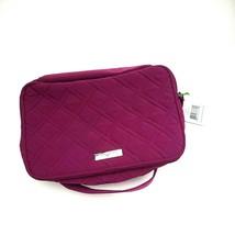 Vera Bradley PLUM Large Blush and Brush Case Make Up Organizer Bag NEW - $54.44
