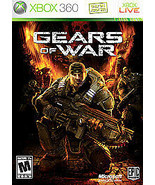 Gears of War (Microsoft Xbox 360, 2006) Disc & Case - $4.96