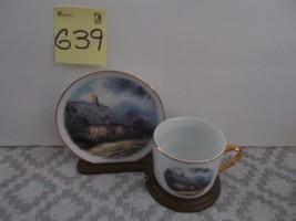 Thomas Kinkade Cup & Saucer, Moonlight Cottage - $14.99