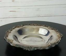 Redd & Barton Vintage Silver Plated Candy Dish #1100 - $44.99