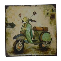 Bar Cafes Coffee Shop Wall Hanging Decoration Iron 8026 - $18.04