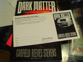 Dark Matter by Garfield Reeves-Stevens  Advance Reading Copy - $24.50