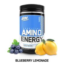 Optimum Nutrition Amino Energy with Green Tea and Green (Blueberry Lemon... - $94.73