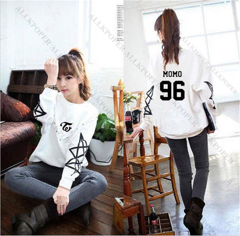 Kpop TWICE Sweatershirt OHH AHH Hoodie Sana DaHyun Sweater TWICEcoaster Pullover