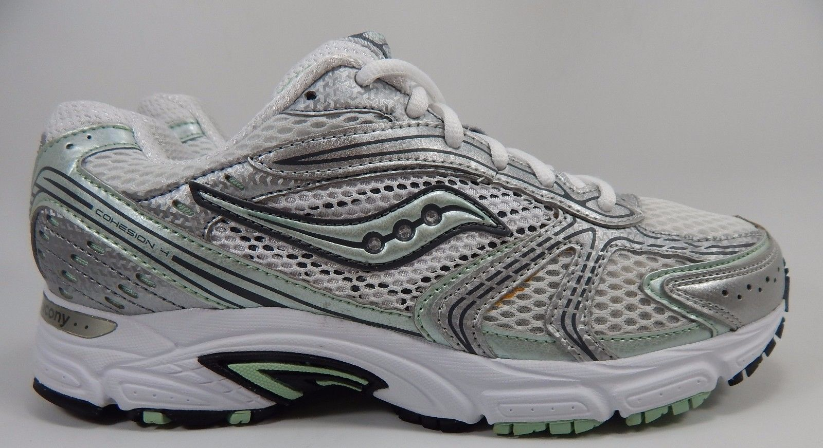 Saucony Cohesion 4 Women's Running Shoes Size US 10 M (B) EU 42 White 15083-10