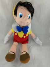 "Mattel Pinocchio Doll Plush 18"" 1992 Disney Stuffed Animal Toy - $22.95"