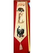 Curious Kitty's Woven Bell Pull by artist Linda Picken     - $19.79