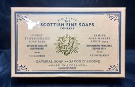 Box of Four Oatmeal Soaps – Scottish Fine Soaps – 4 x 3.5 oz. - Gift Box - $36.72