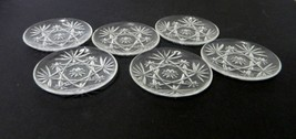 EAPC American Prescut Star of David Coasters Set of 6 Anchor Hocking 4 3... - $29.58
