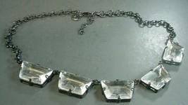 J.Crew   Glass Squares  Statement Necklace - $19.79