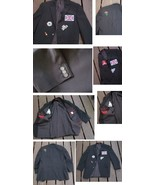 Alfani Slim Fit Jacket With Patches Rocky Horror Picture Show Sex Pistol... - $24.99