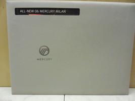 06, 2006 Mercury Milan Sealed Unused Lincoln Dealer Brochure - $18.23